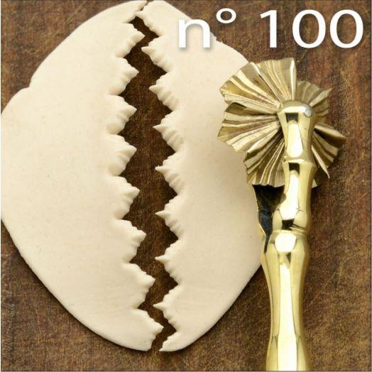 Sardinian Brass Pasta Cutter #100