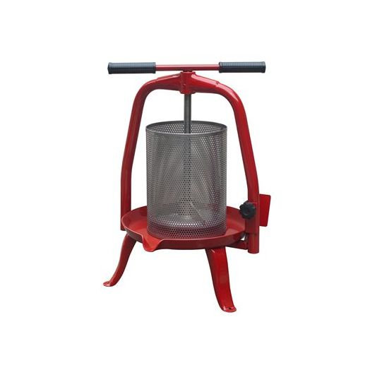 Press with Stainless Mesh Basket