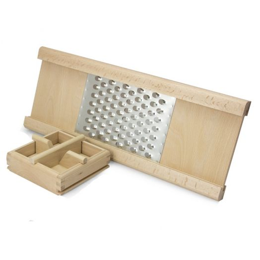 Large wooden grater