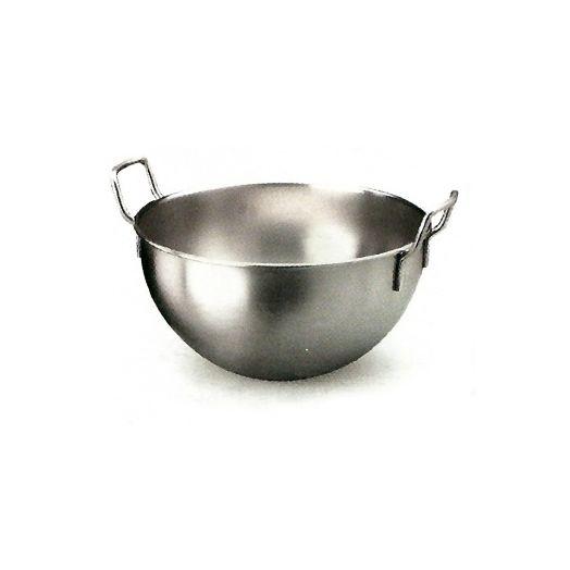 Professional quality hemispherical mixing bowl