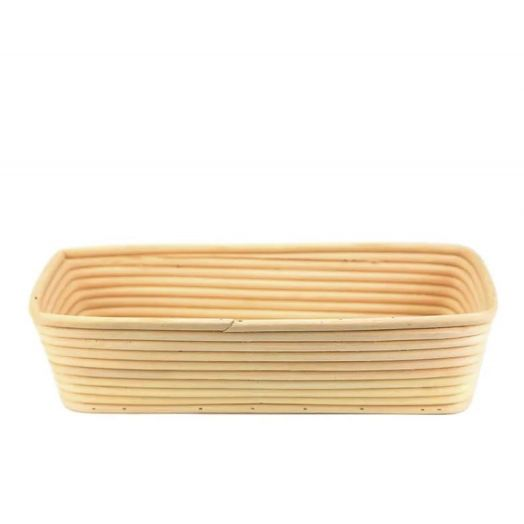 SALE Rattan Bread Proofing Basket / Banneton - Rectangle 30cm