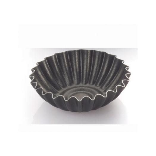 Round domed tart tin 7cm for bocconotti - 6 pack
