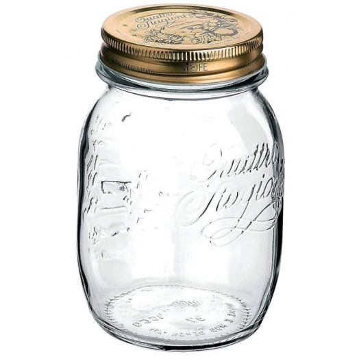 Bormioli Rocco Quattro Stagioni Jar, 700ml x 6