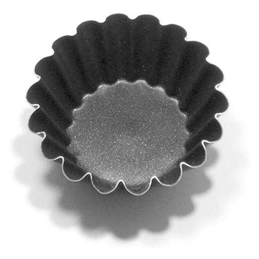 Round tart tin 6.5cm for bocconotti - 6pack