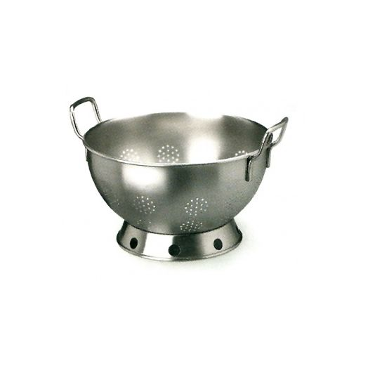 Professional quality stainless steel colander