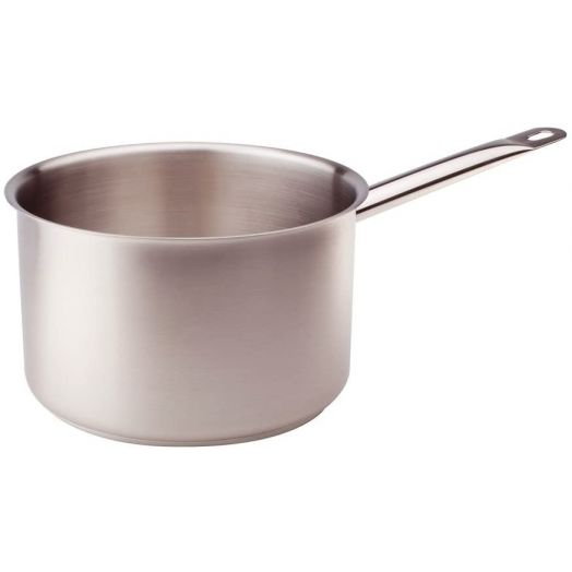 Agnelli Stainless Steel Pot - Single handle 16cm