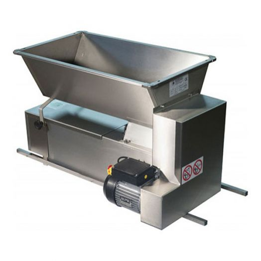 Electric Crusher destemmer 1HP - Stainless Steel