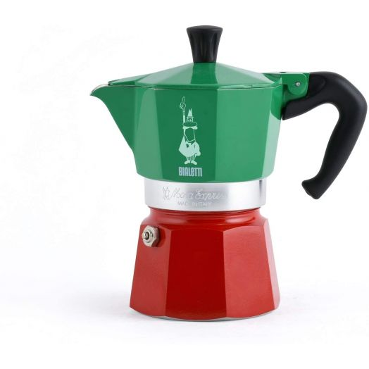 Bialetti Moka Express Tricolor Italia - 3 cup