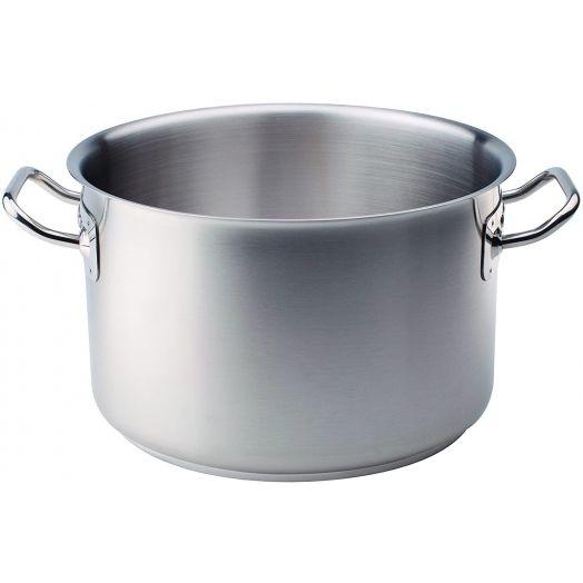 Agnelli Stainless Steel Pot - Tall Casseruola 24cm