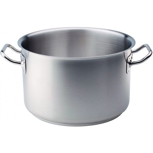 Agnelli Stainless Steel Pot - Tall Casseruola 32cm