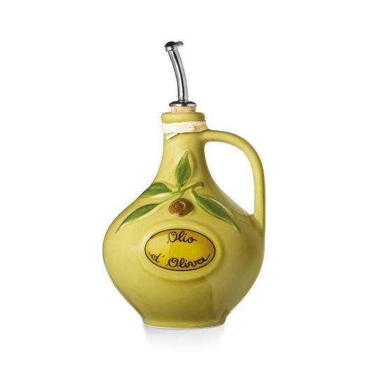 NUOVACER Ceramic Olive Oil bottle 750ml -  'Olive'