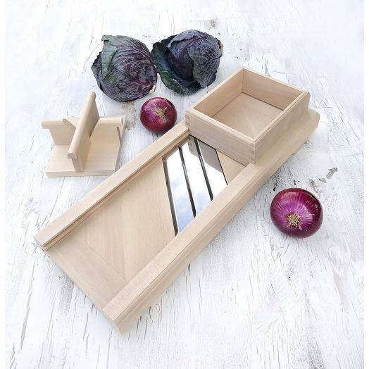 Wooden Cabbage Slicer 40cm
