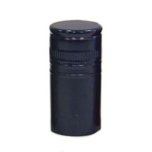 Stelvin Cap - Black - Unthreaded 100pk (30mmx60mm)