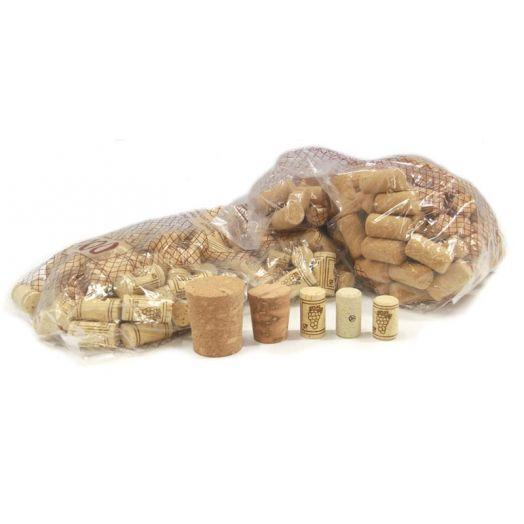 Bag of Agglomerate Corks (100 at 23.5mm x 38mm)
