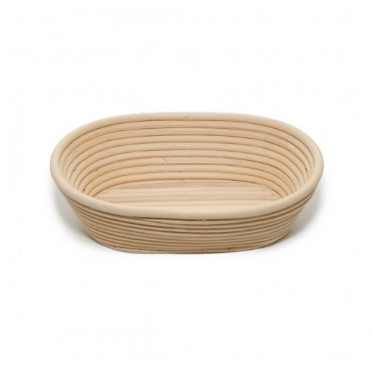 Rattan Bread Proofing Basket / Banneton - Oval 750g