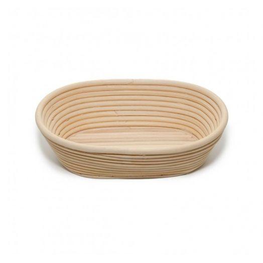 Rattan Bread Proofing Basket / Banneton - Oval 500g