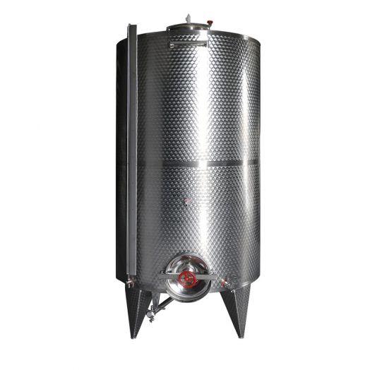 Storage tanks, conical bottom