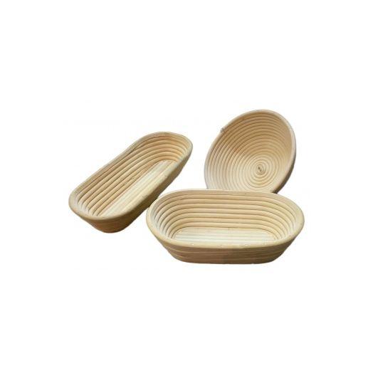 Rattan Bread Proofing Basket/ Banneton- Long 1kg