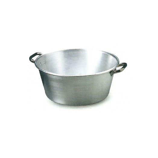 French style jam pot in aluminium
