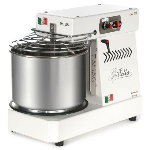 FAMAG Grilletta 5kg Dough Mixer - Variable Speed & Removable Bowl HIGH HYDRATION