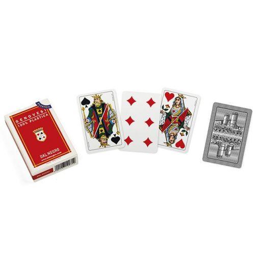 Dal Negro playing cards - GENOVESI