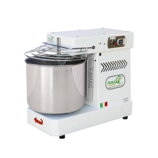 FAMAG Grilletta 8kg Dough Mixer - Variable Speed