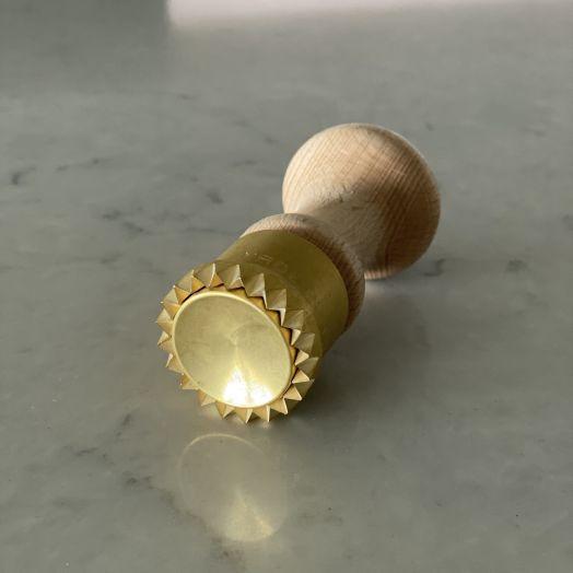 Brass Anolini / Cappelletti Pasta Stamp 3.8cm