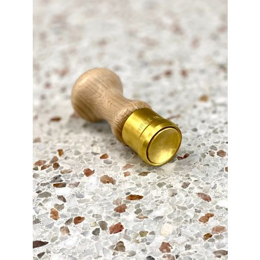 Brass Anolini Stamp 3cm Smooth