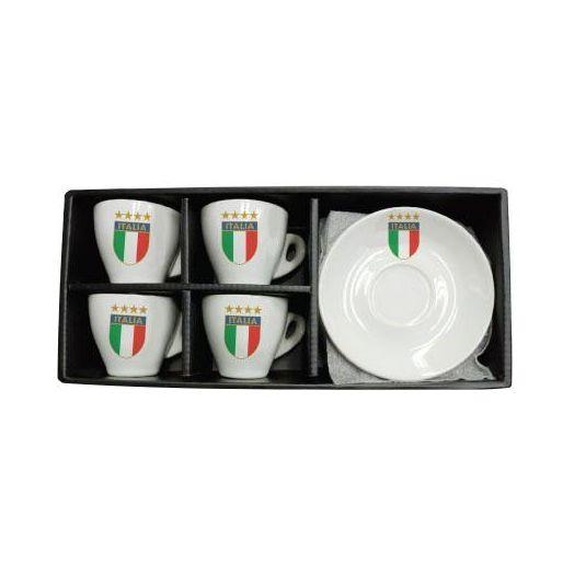 Espresso Cups 4 set - Italia
