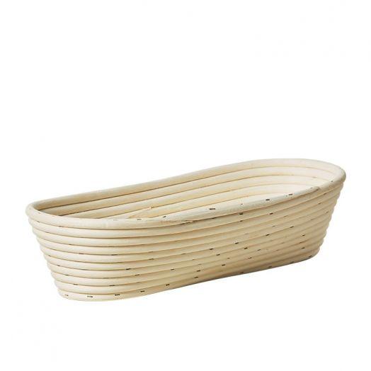 Rattan Bread Proofing Basket / Banneton - Long 750g