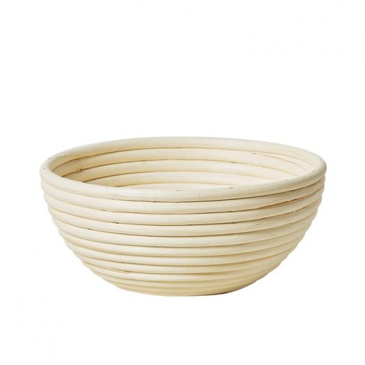 Rattan Bread Proofing Basket / Banneton - Round 1kg