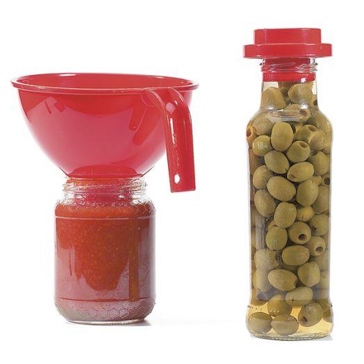 Plastic Bottle Jar filling Funnel
