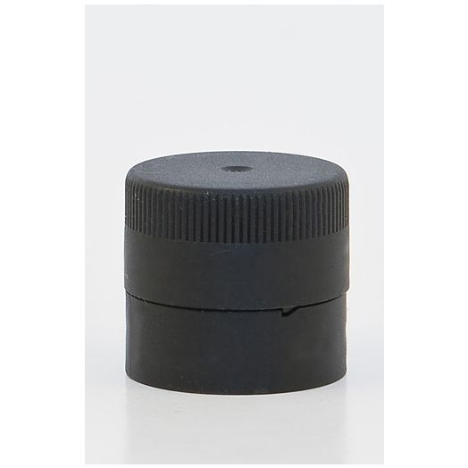 Plastic Push on lid with pourer  31.5mm