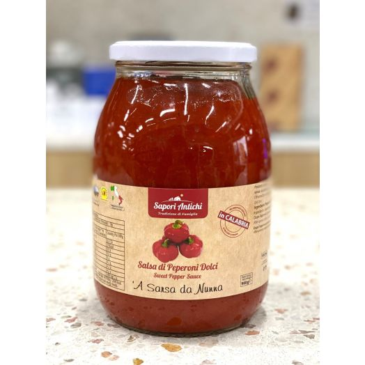 Sweet Capsicum Salsa 1L - Italian Made