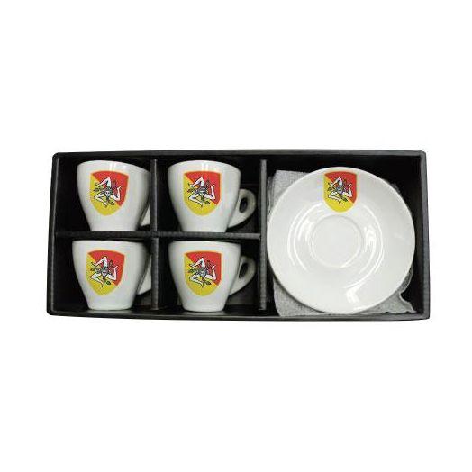 Espresso Cups 4 set - Siciliana