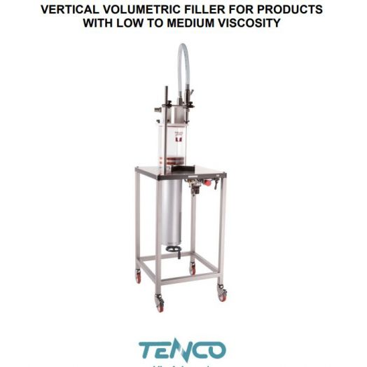 Vertical volumetric filler
