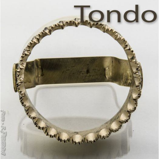 Sardinian Brass Cutter - Round