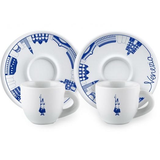 Bialetti Tazzine Cups & Saucers 2 Set (Venezia)
