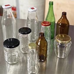 Jars, Bottles & Lids